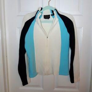 Obermeyer Zip up Sweater L